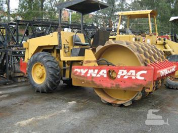 Rolo Compactador Dynapac CA25