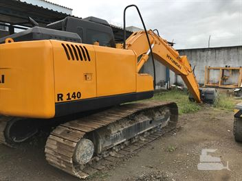 Escavadeira Hyundai R140LC-7