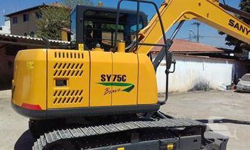 Escavadeira Sany SY75C