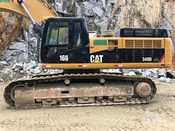 Escavadeira Caterpillar 349D