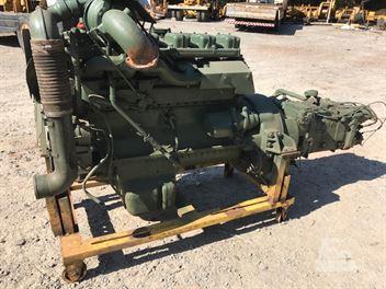 Motor Diesel MB 355 LA com Caixa ZF