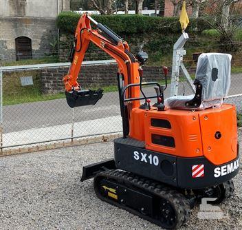 Mini-Escavadeira Semax SX10