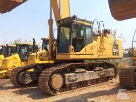 Escavadeira Komatsu PC600