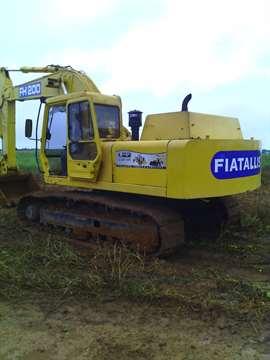 Escavadeira Fiatallis FH200